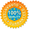 King Brand Healthcare Products<sup>&#0174;</sup> 100% quality guarantee ribon